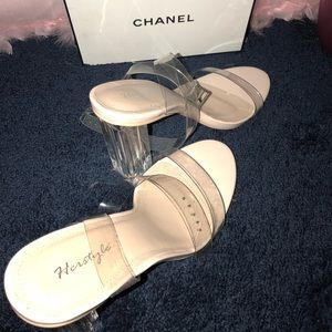 Kim Kardashian inspired heel.